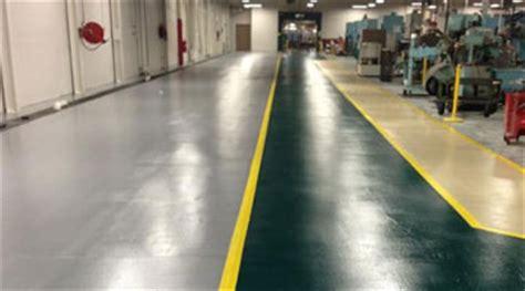 machine shop floor coating concrete flooring for factories