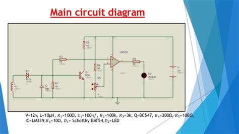 schottky diode detector circuit cell phone detector