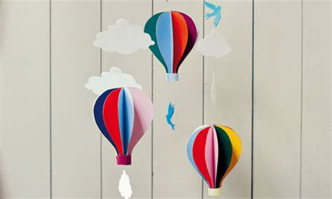Make A Air Balloon Out Of Paper - craft and hobbies books the guardian