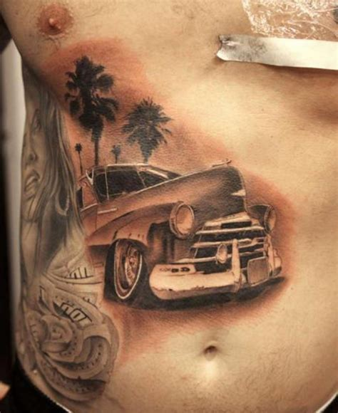 automotive tattoo 15 cool and classic car tattoo designs with meanings