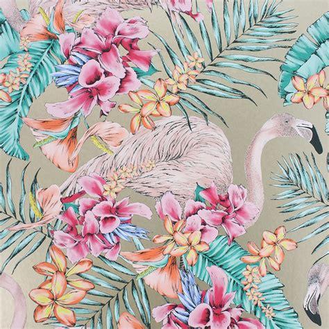 flamingo wallpaper sle matthew williamson flamingo club wallpaper w6800 07