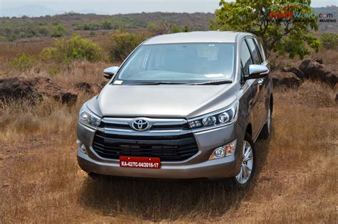 Toyota Pics 50000 Units Of 2016 Toyota Innova Crysta Sold In India