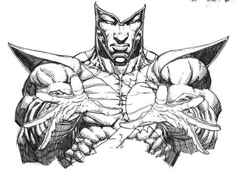 martian manhunter coloring pages coloring coloring pages
