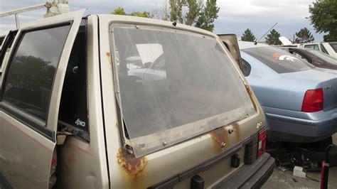 nissan stanza wagon slammed junkyard gem 1986 nissan stanza 4wd wagon autoblog