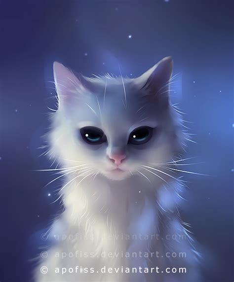 cat wallpaper deviantart yang aura by apofiss on deviantart