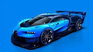 Bugatti Blue Bugatti Blue Vision 2016 Desktop Car Hd Wallpaper