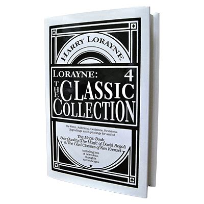 libro classic collection volume 4 lorayne the classic collection vol 4 h r magic books