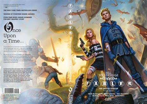 fables the deluxe edition book one exclusive cover reveal fables deluxe edition book nine