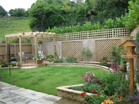 outdoor gardening minimalist garden design with