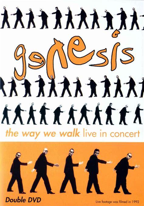 genesis concert dvd genesis the way we walk live in concert dvd the