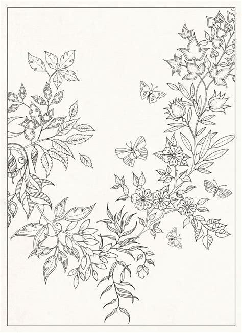 secret garden coloring book chile 大人のぬりえ 細かいフラワーお花ガーデン庭の無料 テンプレート naver まとめ