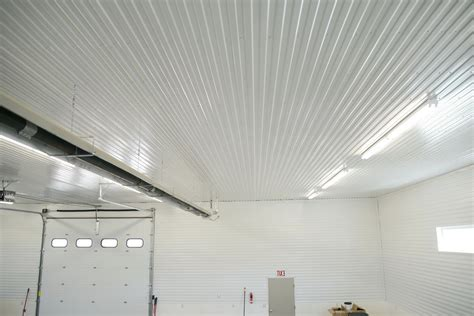Garage Ceiling by Corrugated Metal Ceiling Garage Home Design Ideas
