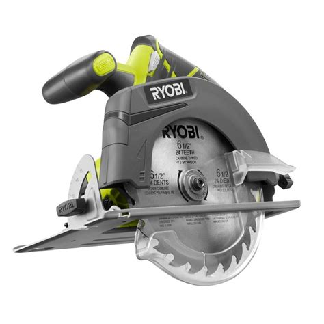 Kitchen Appliances Design by Ryobi 18 Volt One 6 1 2 In Cordless Circular Saw Tool