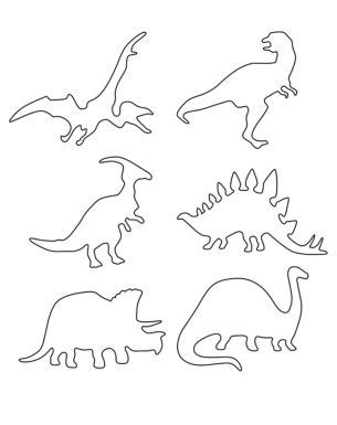 Dinosaur Templates To Print by 138 Best Printable Stencils Images On