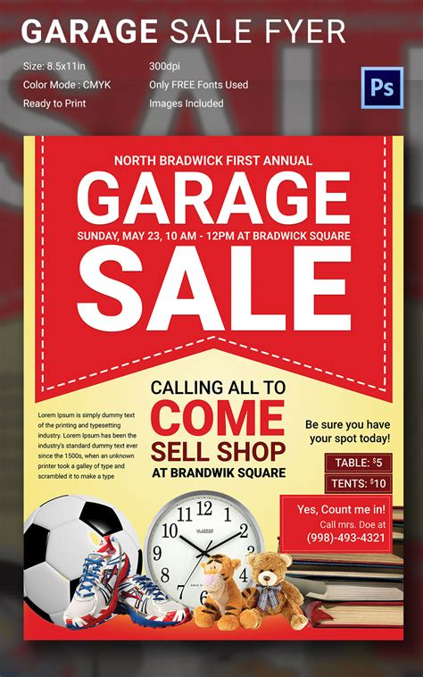 garage sale flyer www imgkid com the image kid has it