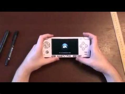 How To Make A Paper Psp - psp in the origami