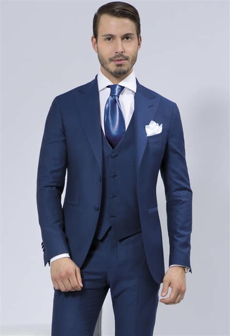 Promo Sale Blazer Navy Jas Semi Formal Pria Cowok Slimfit cobalt blue wedding suits 3 to buy cobalt murray of skibbereen west cork