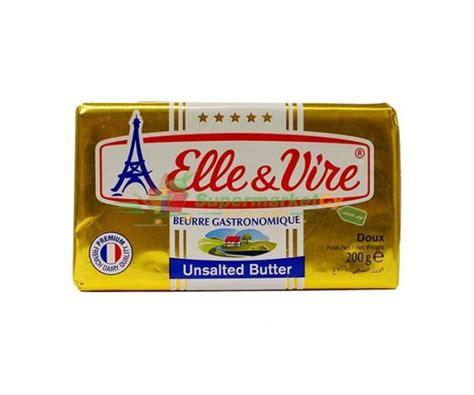 Vire Butter Unsalted 200gr vire butter pack unsalted celinemeatshop