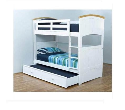 Ranch Single Bunk Trundle Bed Kids Trundle Bunk Bed Single Bunk Bed With Trundle
