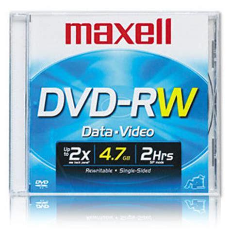 format dvd rw discs dvd rw format information