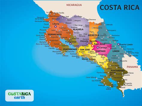 south america map costa rica a in paradise costa rica by barbara barton