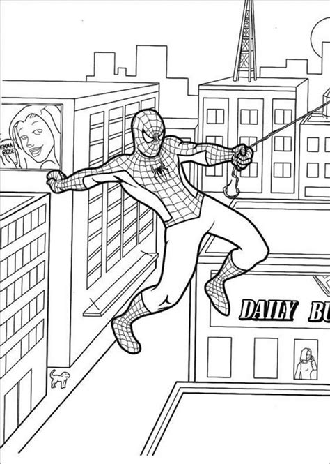 30+ Spiderman Colouring Pages - Printable Colouring Pages