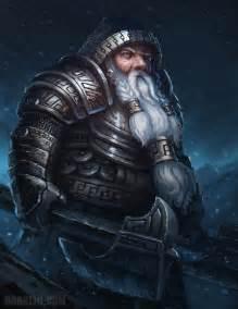 Dwarven warrior by bobkehl on deviantart
