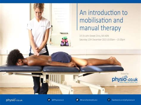 therapy manual physio co uk an introduction to mobilisation and manual