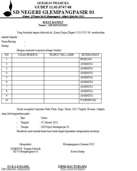 format daftar hadir anggota pramuka operator adipala contoh surat administrasi pesta siaga