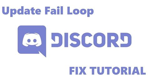 discord failed to update discord pc update fail loop fix tutorial youtube