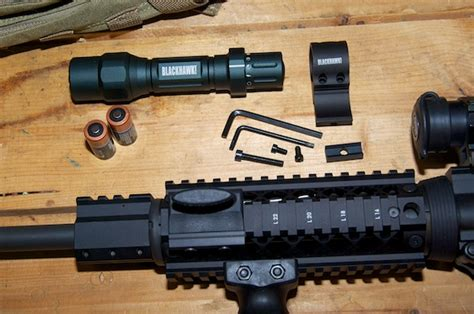 ar 15 tactical light mounting a tactical light on your ar 15 my gun culture