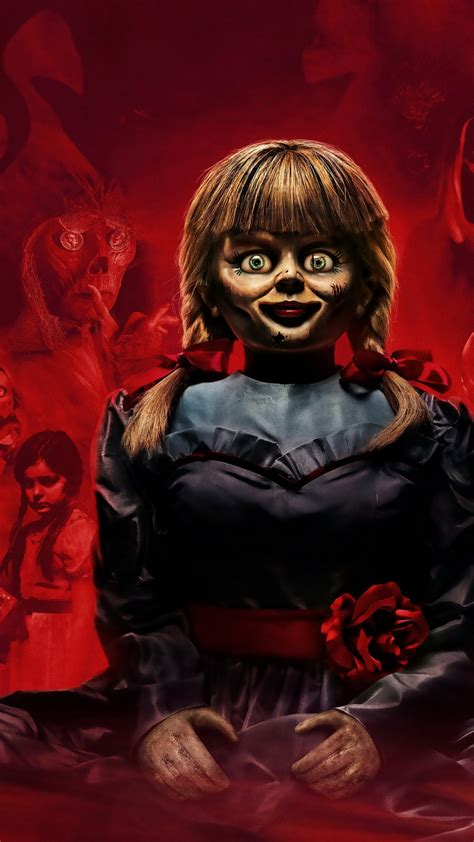 wallpaper annabelle  home horror movies