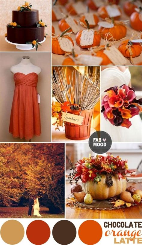 fall color schemes wedding colors for fall 2016 2017 fashion trends 2016 2017