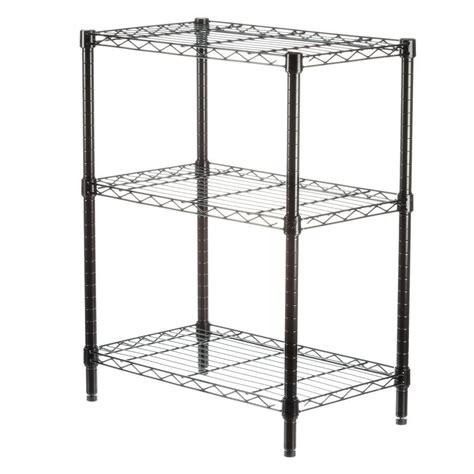 honey can do 3 shelf 30 in h x 24 in w x 14 in d steel