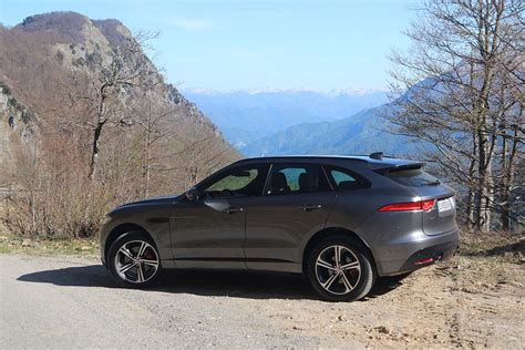 2017 Jaguar F Pace Side Grey On Road 2017 Jaguar F Pace