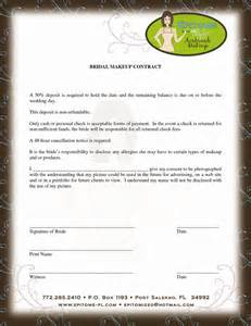 hair and makeup contract template makeup artist contract template uk makeup vidalondon