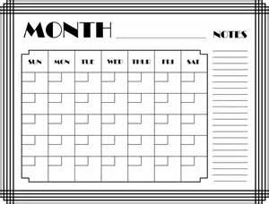 Calendar For This Month Clipart Month Calendar