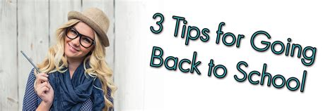 Goes Back To School by 3 Tips For Going Back To School Vici Schools