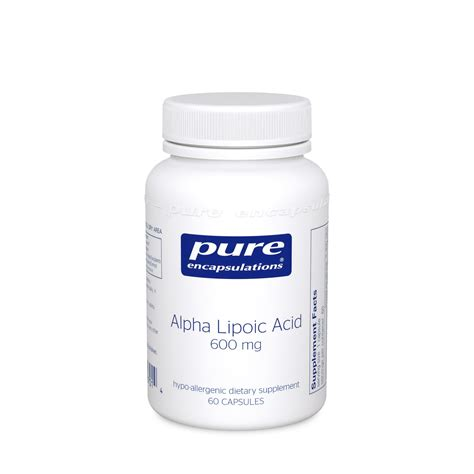 Alpha Lipoic Acid Metal Detox by Alpha Lipoic Acid 600 Mg