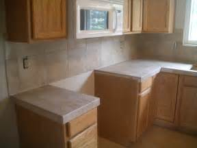 Tile Kitchen Countertops Ceramic Tile Kitchen Countertops And Backsplash