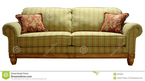 green plaid sofa country plaid sofa stock photo image of home design