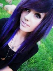black n purple hair purple hair on pinterest lavender hair scene hair and