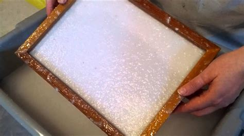 How To Make Handmade Paper - pulp deckle recycled handmade paper