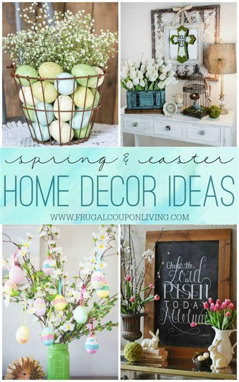 spring easter home decor ideas
