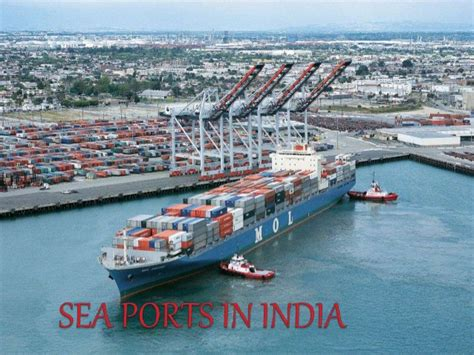 In India by Sea Ports In India