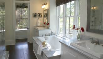 master bathroom low country vacation cottage idea