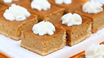 pumpkin pie bars recipe from pillsbury com