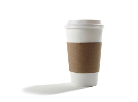 Coffee Cup just one in 400 coffee cups are recycled even if you put