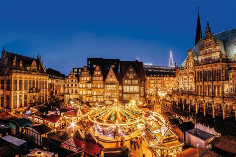 christmas market and schlachte magic markets and