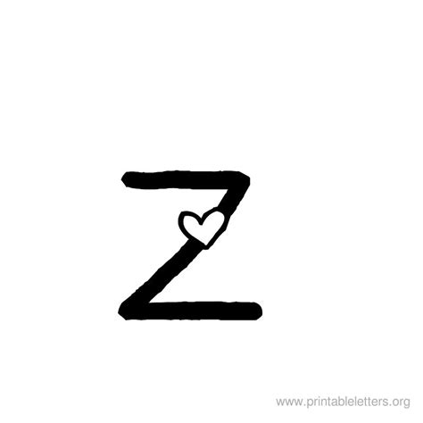 Printable Letters Z | Letter Z for Kids | Printable ... Lowercase Graffiti Bubble Letters